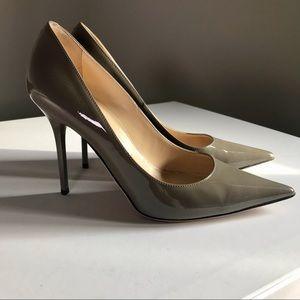Jimmy Choo Abel pump heels paten leather size 36
